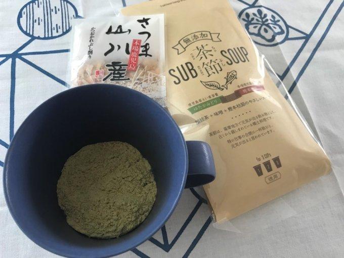 """鹿児島の郷土料理""""茶節""""が、ヘルシー美味しい優しい!"""