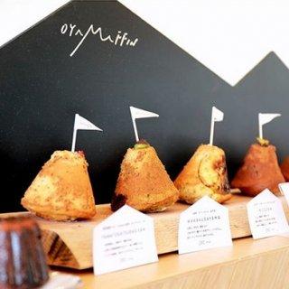 思わずパシャリ!奈良の人気カフェ『ナナツモリ』の可愛すぎる「オヤマフィン」