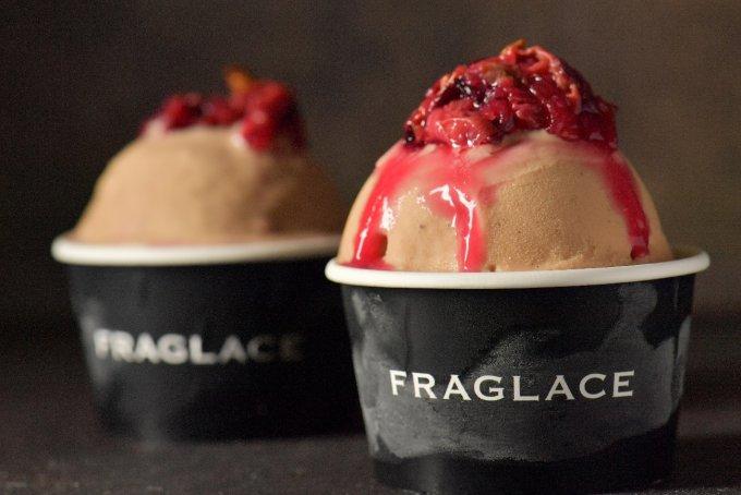 12月21日販売開始!香りを食べるFRAGLACE「バラのアイスクリーム」