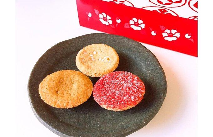 冬季限定!イチゴ、柚子、焼き林檎を味わうサブレ「冬の小箱」