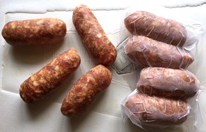 岩手の白金豚を使ったイタリアン名店リストランテホンダのサルシッチャ(腸詰め)