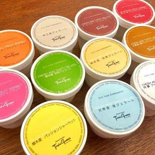 熊本の旬をいいとこどり!「フランス菓子 トワ・グリュ」の「ジェラート&ソルベ」