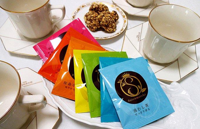 鹿児島発。もらって嬉しい七色の日本茶のギフト