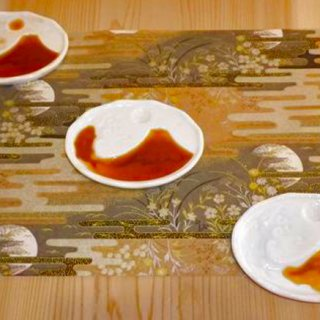 """和食で""""おもてなし""""はここまでこだわりたい!醤油がアートになる「醤油絵皿」"""