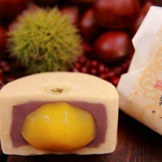 まるごと入った大きな栗が見事!上品なお味の宝塚銘菓『菅屋』の「金覆輪」