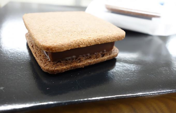 『チョコレートで世界を幸せにする』想いがこもった生チョコサンド