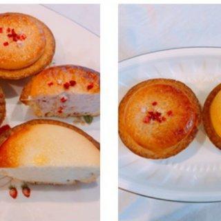 いい香り〜『BAKE』の焼きたてチーズタルト・季節限定ストロベリーチーズタルト』