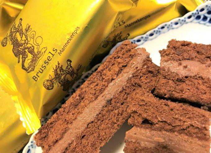 チョコレート好きにはたまらない!チョコをチョコで挟んだケーキ「ブリュッセル」