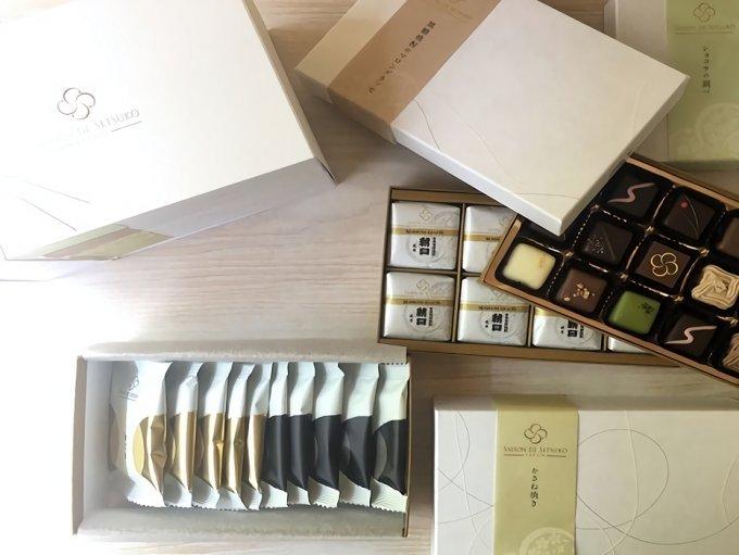 香ばしいプチプチゴマと抹茶チョコの新食感『セゾン ド セツコ』の「かさね焼き」