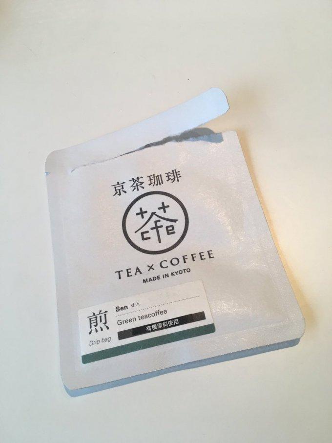 コーヒーの中に緑茶がミックスされた!?新感覚のドリップ珈琲茶