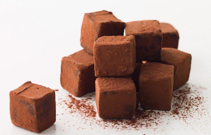 甘美なくちどけにノックダウン! どこまでもとろける生チョコの世界