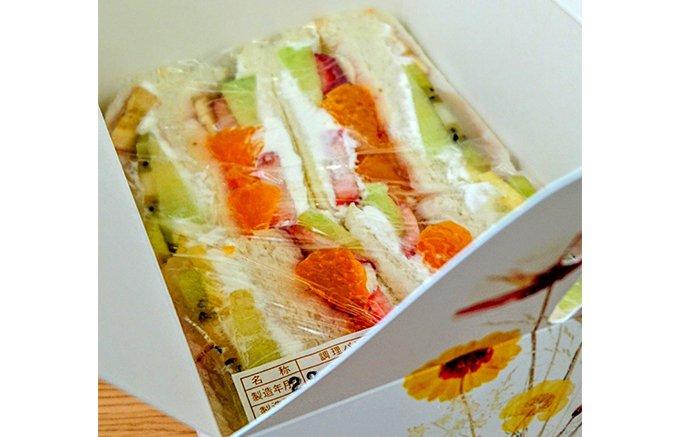 日本一とも言える!岐阜の喫茶店「フルーツパーラーおおくま」のフルーツサンド