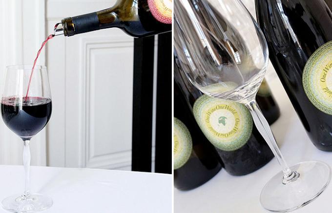 最高の評価を得たワインだけに与えられる称号を名に持つ、ワイングラス