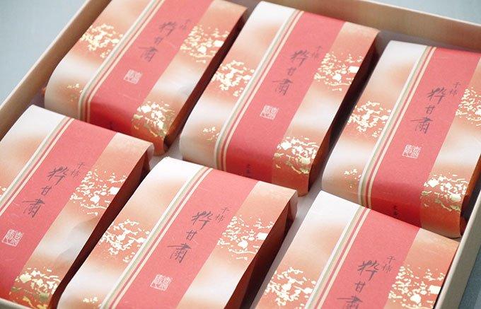 季節を伝える干し柿の和菓子「粋甘粛」