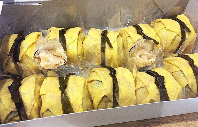伝統ある大人の差し入れに最適「赤坂 有職」の見目麗しい茶巾寿司