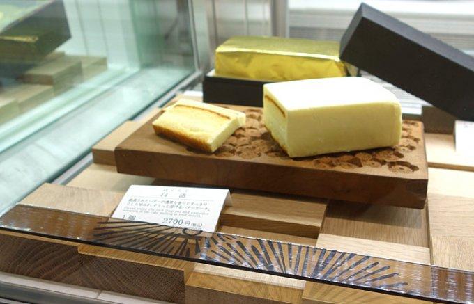 エシレのバターたっぷりの贅沢バターケーキ