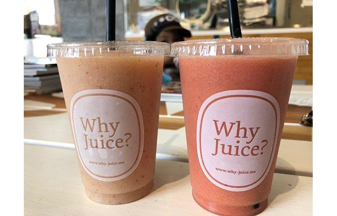 「Why Juice?」の桃&スイカのスムージーで夏を丸ごと召し上がれ!