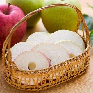ぱりっとさくふわの食感!生のりんごをフリーズドライに。驚きの食感「ソフトりんご」