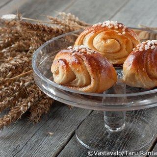 フィンランドで最も愛されている菓子パン!シナモンロール