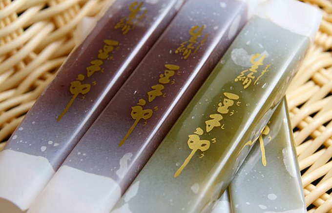 工場から1時間以内、ほぼ山口県内でしか購入できない「豆子郎」の「生絹豆子郎」