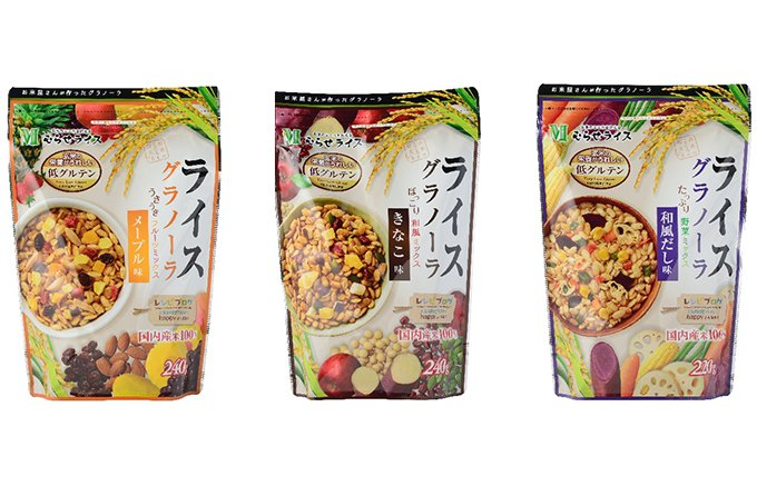 米国の高級食品見本市で見つけた日本発・和風テイストの「ライスグラノーラ」