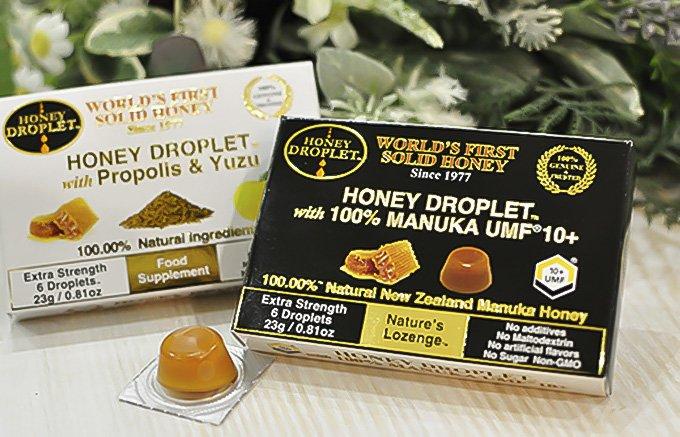 冬に必須!あのマヌカハニーが特許製法により100%ハチミツキャンディーとして誕生