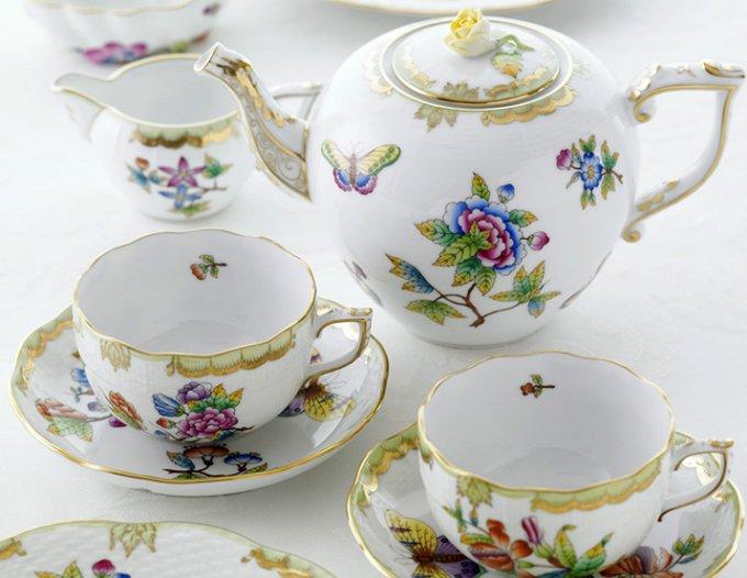 ヴィクトリア女王が認めたヘレンドのバレンタインギフト