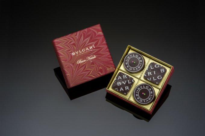 聖夜を彩る宝石!誕生10周年『ブルガリ イル・チョコラート』ナターレ・ボックス