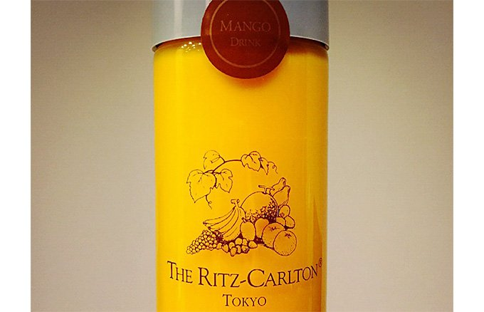 キング・オブ・マンゴー使用!リッツ・カールトンの絶品「マンゴージュース」