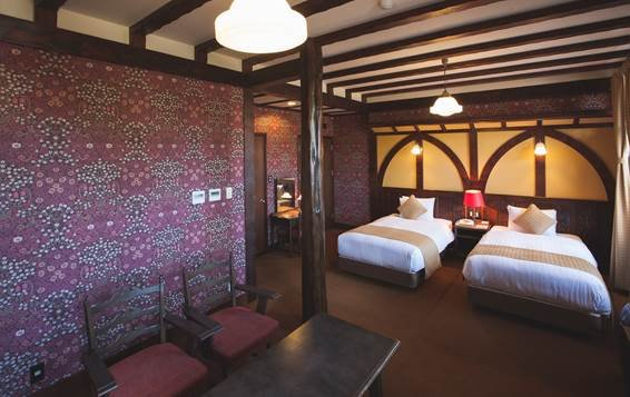 クラシックホテル「雲仙観光ホテル」のゴルゴンゾーラベイクドチーズケーキ