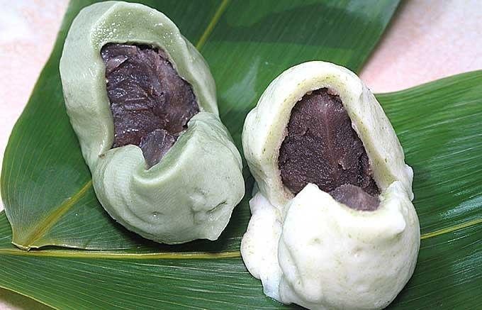 生麩であんを包む麩まんじゅうは小金井の地域の味
