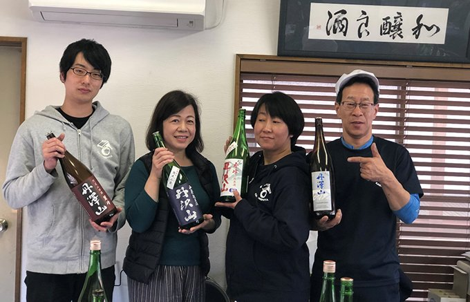 日本酒の新しい楽しみ方発見!日本酒「丹沢山麗峰」とフルーツのコラボ「燗グリア」