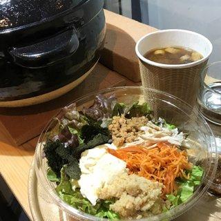 全てが自然栽培素材!貴重な「食や」のご飯・おかず・味噌汁