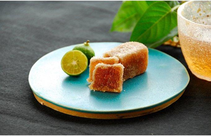 300年もの歴史を持つ琉球王朝伝統の銘菓「橘餅(きっぱん)」