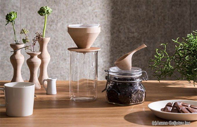 コーヒーにこだわる人に贈りたい!木の手触りが優しい「coffee things」