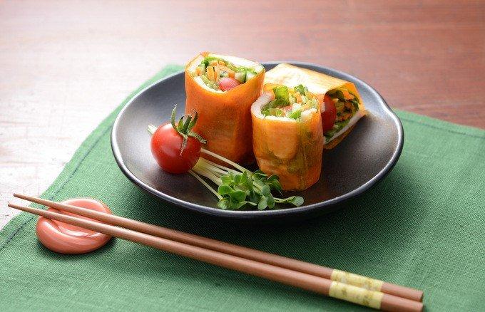 新鮮野菜がシートになった!食卓を鮮やかに彩る「ベジート」