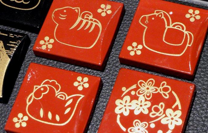 小粋でモダンな漆器。日本の「伝統技」を贈る。