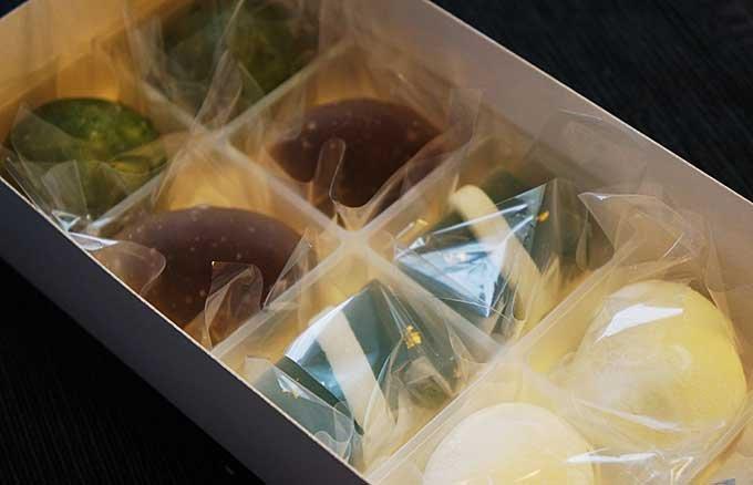 季節感を楽しむ夏の冷たい和菓子 名古屋の銘菓「花桔梗」の和菓子
