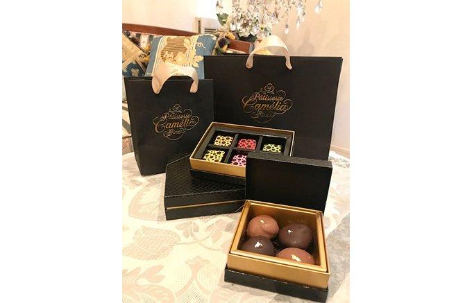 銀座で一番最旬なチョコレート!『パティスリーカメリア』のボンボンショコラ