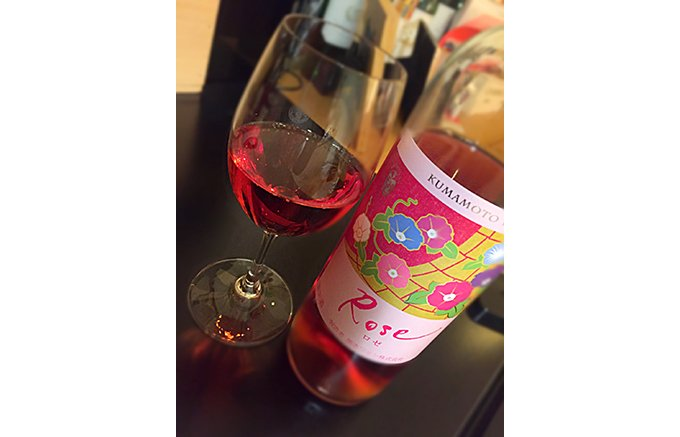 熊本発!可愛いけれど甘くない、すっきり飲めるロゼワイン「熊本ロゼ」