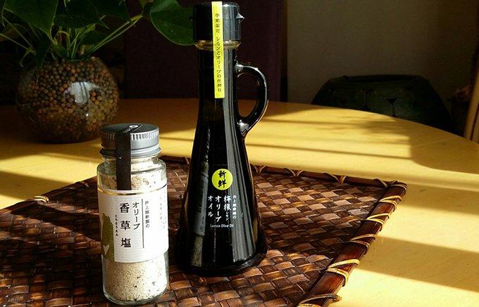 高松にあるレストラン ミケイラで出会った「香草塩と檸檬オリーブオイル」