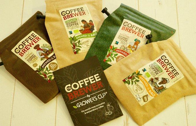 いつでもどこでも美味しく楽しめるグロワーズカップの「COFFEE BREWER」