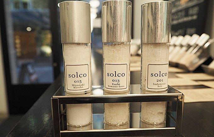 塩は一つの味だけではくくれない戸越銀座「SOLCO」で食の広がりを学ぶ。