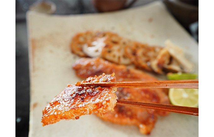 全国にファン!肉職人厳選 最高級ロース肉に秘伝味噌が織りなす名代『石川のとん漬』