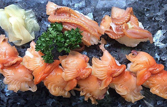 旬の赤貝には宮城閖上の「宝船浪の音 純米酒 閖」