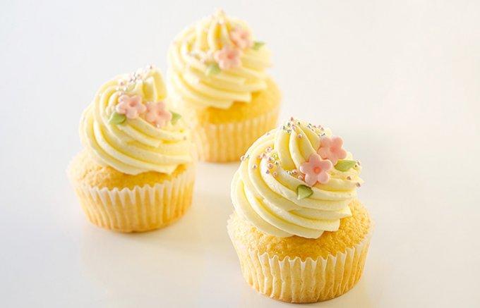 ロンドン発、女心をくすぐるかわいいカップケーキ。