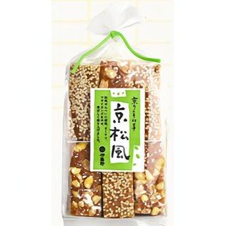 京都の裏と表の風情を表現したお菓子「京松風」