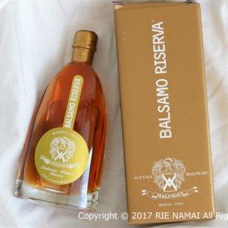 熟成8年!蜂蜜のような甘さとブドウの旨味が凝縮したバルサモ・ビアンコ・レゼルヴァ