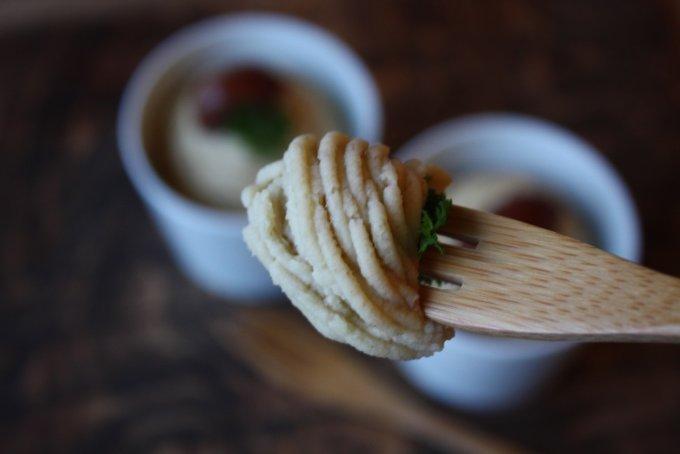 和菓子屋が作る冬だけの味!和栗をふんだんに使った『鈴懸』の「和栗乃モンブラン」