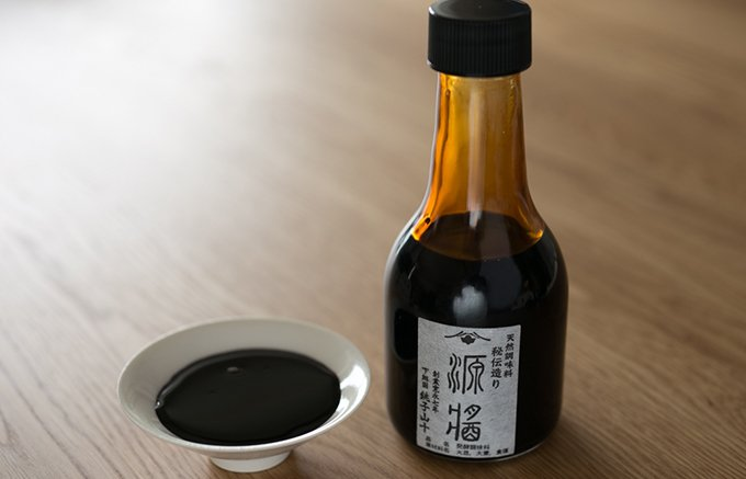 醤油でも醤(ひしお)でもない、とても希少な調味料「源醤」